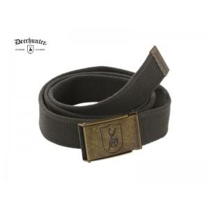 DH8223 Deerhunter Canvas Belt, 4 cm width - Art Green