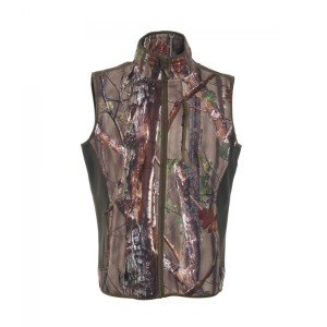 DH4515 Deerhunter Gamekeeper Bonded Fleece Waistcoat - 50 Innovation Camo