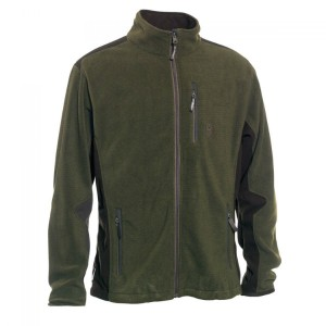 DH5721 Deerhunter Muflon Zip-In Fleece Jacket - 376 Art Green