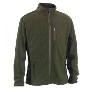 DH5721 Deerhunter Muflon Zip-In Fleece Jacket - 376 Art Green