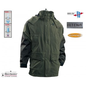 DH5348 Deerhunter Smallville Jacket with Hitena - Deep Cypress Green