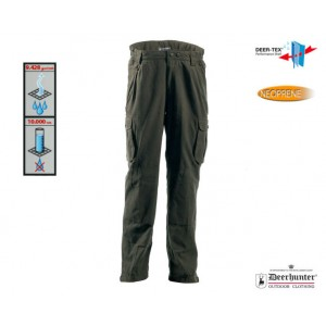 DH3369 Deerhunter Montana Trousers 2.G - Palm Green