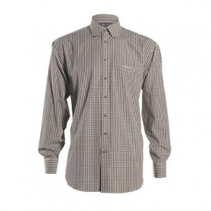 DH8672 Deerhunter Cameron Shirt - Green Check (special offer / only one left).