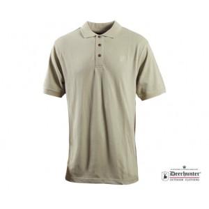 DH8656 Deerhunter Berkeley Polo Shirt - True Beige