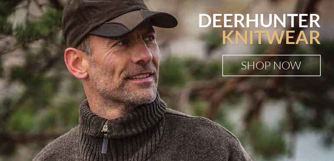 Deerhunter Clothing Knitwear for hunting, shooting and outdoors